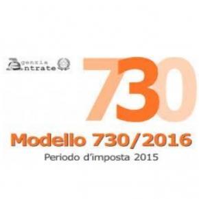 NOVITA' DICHIARAZIONE MODELLO 730/2016