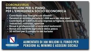 Coronavirus, Il Maxi Piano Della Regione Campania: Stanziati Oltre 600 Milioni