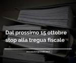 Fine Tregua Fiscale