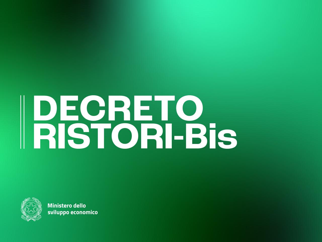 In Vigore Il Decreto Ristori BIS