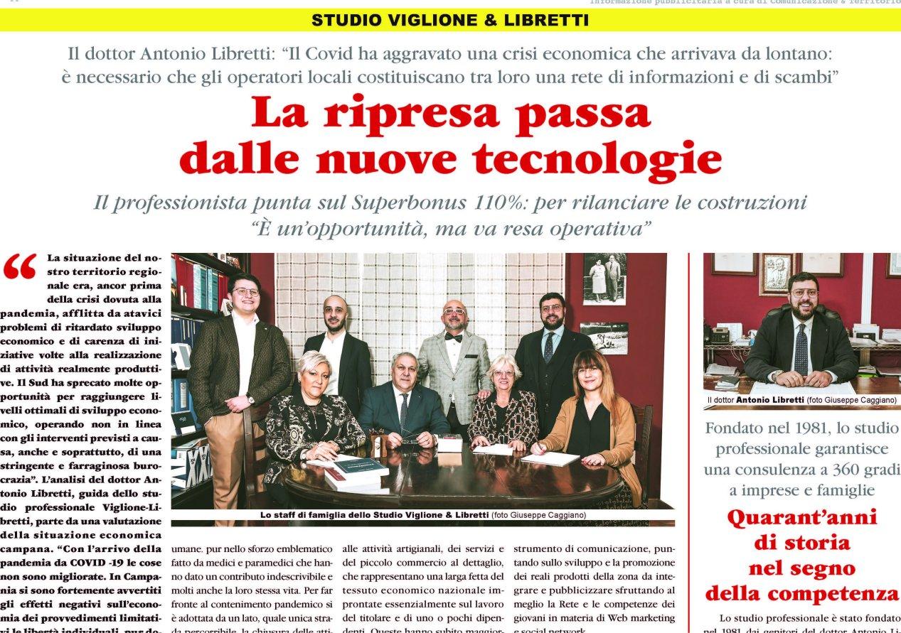 """Lo Studio Viglione Libretti & Partners Su """"la Repubblica"""""""